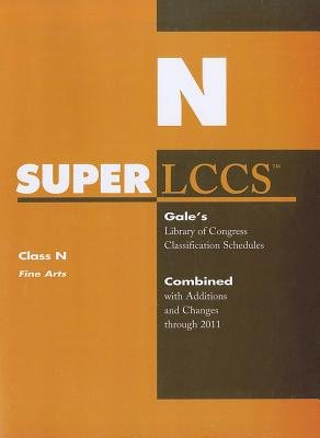 SUPERLCCS - Class N: Fine Arts (Paperback): Gale