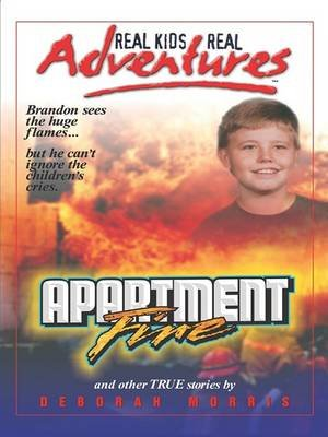 Apartment Fire and Other Stories (Large print, Hardcover, large type edition): Deborah Morris