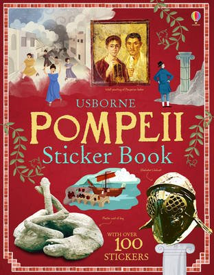 Pompeii Sticker Book (Paperback):
