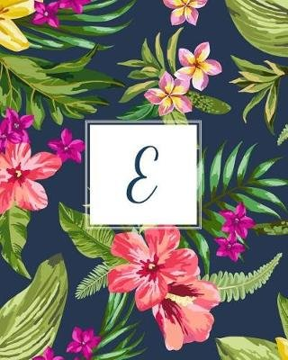 E - Tropical Floral, 150 Pages, 8 X 10 (Paperback): Creative Notebooks