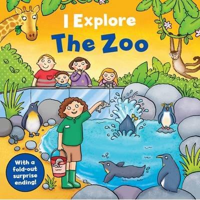 I Explore the Zoo (Board book): Emma Dods