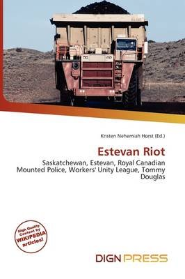 Estevan Riot (Paperback): Kristen Nehemiah Horst
