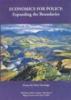 Economics for Policy - Expanding the Boundaries (Paperback): Peter Gorringe