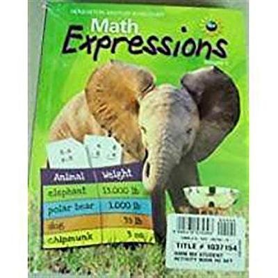 Math Expressions - Student Edition Consumable Level 3 Set (Paperback): Houghton Mifflin Company