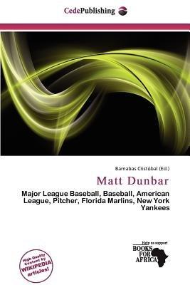 Matt Dunbar (Paperback): Barnabas Crist Bal