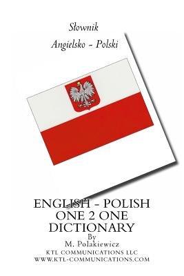English - Polish One-2-One Dictionary (Paperback): M. Polakiewicz