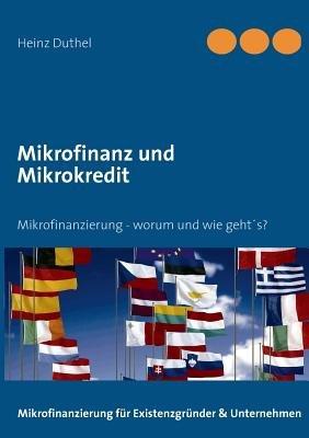 Mikrofinanz Und Mikrokredit (German, Paperback): Heinz Duthel