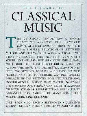Library of Classical Music (Paperback): Hal Leonard Corp