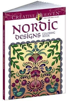 Creative Haven Nordic Designs Collection Coloring Book (Paperback): Dover, Jessica Mazurkiewicz