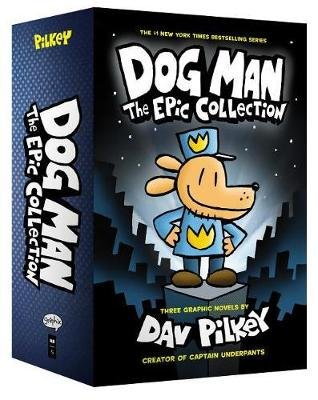 Dog Man 1-3: The Epic Collection (Multiple copy pack): Dav Pilkey