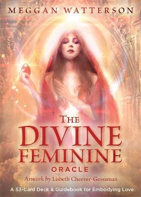 The Divine Feminine Oracle - A 53-Card Deck & Guidebook for Embodying Love (Cards): Meggan Watterson