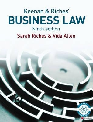 Business Law (Paperback, 9th Revised edition): Sarah Riches, Vida Allen