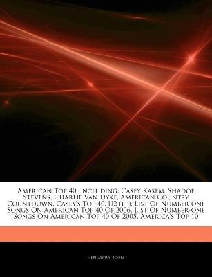 Articles on American Top 40, Including - Casey Kasem, Shadoe