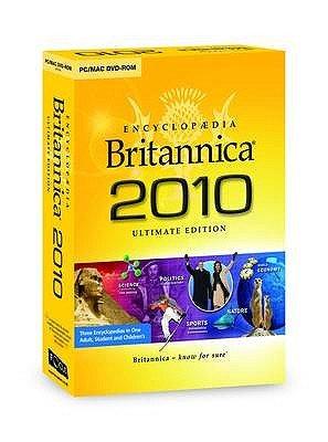 Encyclopaedia Britannica 2010 (DVD-ROM, Ultimate ed