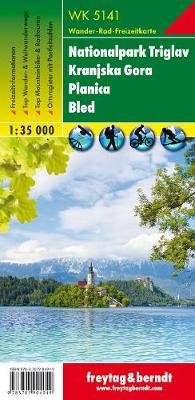 Triglav National Park - Kranjska Gora-Planica-Bled 2018 (Sheet map, folded):