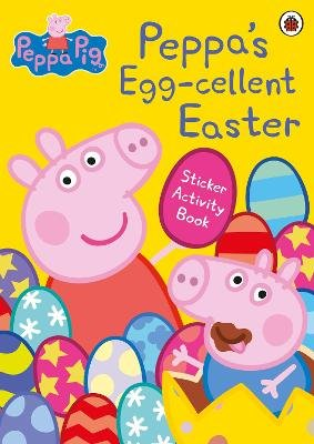 Peppa Pig: Peppa's Egg-cellent Easter Sticker Activity Book (Paperback): Peppa Pig
