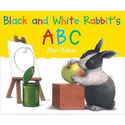 "Black and White Rabbit""s ABC (Hardcover, Turtleback Scho): Alan Baker"