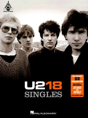 U2: 18 Singles (Paperback): Hal Leonard Publishing Corporation