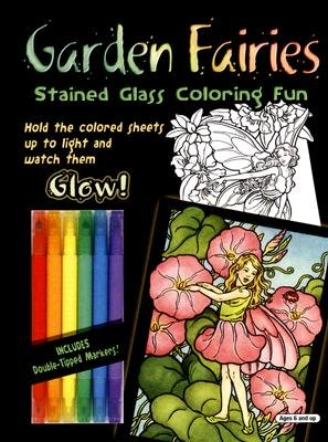 Garden Fairies - Stained Glass Coloring Fun (Other merchandize): Darcy May
