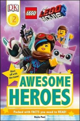 The Lego(r) Movie 2 Awesome Heroes (Paperback): Dk, Rosie Peet