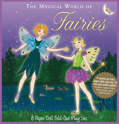 Fold-Out Playset Fairies (Spiral bound): Amy Saidens
