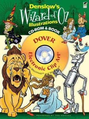 Denslow's Wizard of Oz Illustrations (Paperback, Green): Ted Menten