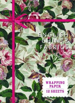 English Chintz Fabrics Wrapping Paper - From the V&A Museum (Paperback):
