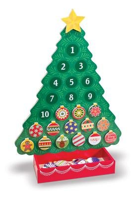 Melissa & Doug Classic Toys - Countdown to Christmas Wooden Advent Calendar: Melissa & Doug