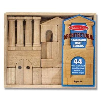 Architectural Standard Unit Blocks: Melissa & Doug