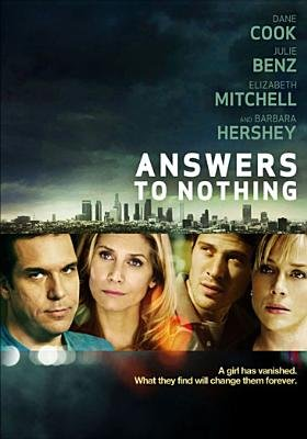 Answers To Nothing (Region 1 Import DVD): Julie Benz, Barbara Hershey, Elizabeth Mitchell, Dane Cook, Zach Gilford