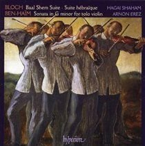 Various Artists - Violin Suites (Shaham, Erez) (CD): Ernest Bloch, Paul Benhaim, Hagai Shaham, Arnon Erez