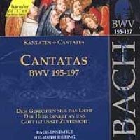 J. S Bach - Sacred Cantatas Bwv 195-197 (CD): J. S Bach