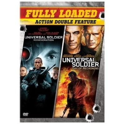 Universal Soldier Day of Reckoning/Universal Soldier Regeneration (Region 1 Import DVD): Van Damme,Jean-Clau