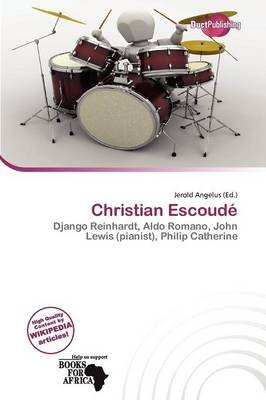Christian Escoud (Paperback): Jerold Angelus
