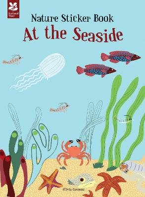 My Nature Sticker Activity Book: At the Seaside (Paperback): Olivia Cosneau