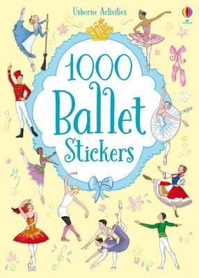 1000 Ballet Stickers (Paperback): Sue Meredith