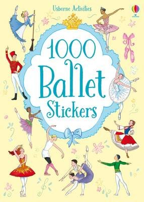 1000 Ballet Stickers (Paperback): Sue Meredith