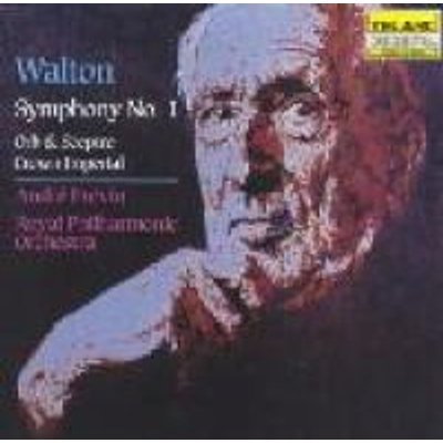 Walton, William, Sir - Walton: sym.1 CD (2004) (CD): Andre Previn