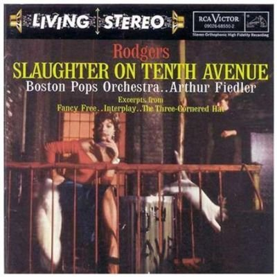 Various Artists - Slaughter On Tenth Avenue/& CD (1997) (CD): Rodgers/Gould/Bernstein/Falla/