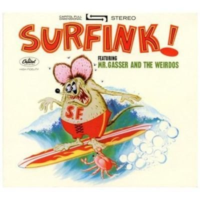 Mr. Gasser & / The Wei - Surfink CD (2011) (CD): Mr. Gasser &, The Wei