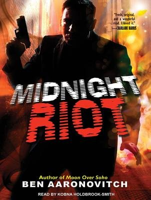 Midnight Riot (Library Edition) (Standard format, CD, Library ed): Ben Aaronovitch