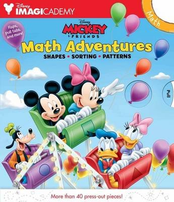 Disney Imagicademy: Mickey & Friends: Math Adventures (Hardcover): Bill Scollon