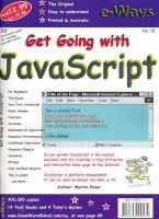 Get Going with Javascript (Paperback): Martin Baier