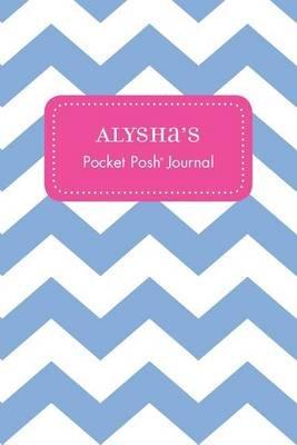 Alysha's Pocket Posh Journal, Chevron (Paperback): Andrews McMeel Publishing