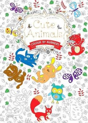Cute Animals (Colouring Book, by Numbers) - Colour by Numbers (Paperback, New edition): Daisy Seal
