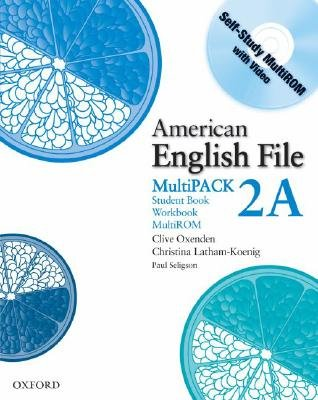 American English File Level 2: Student Book/Workbook Multipack A (Mixed media product): Clive Oxenden, Christina Latham-Koenig,...