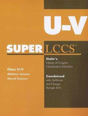 SUPERLCCS - Class U-V: Military and Naval Science (Paperback): Gale