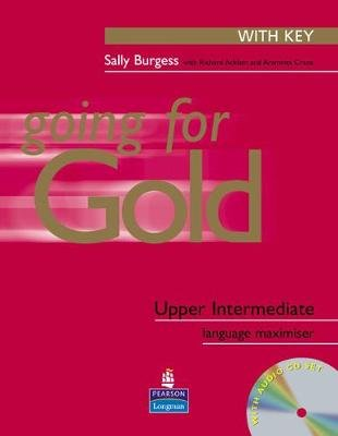 Going for Gold Upper-Intermediate Language Maximiser with Key for Pack (Paperback): Sally Burgess