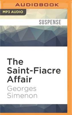 The Saint-Fiacre Affair (MP3 format, CD): Georges Simenon