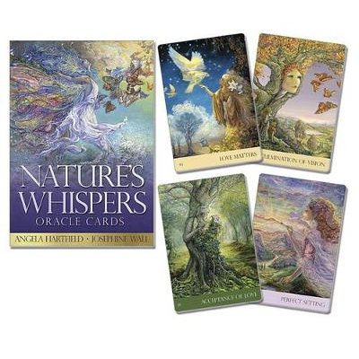 Nature's Whispers Oracle Cards (Cards): Angela Hartfield, Josephine Wall